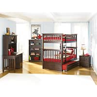 Shop Crotone Twin Over Twin Bunk Bed With Trundle