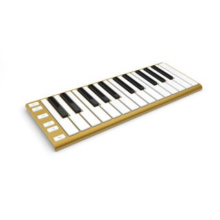 CME Xkey 25-Key Gold Mobile MIDI Keyboard