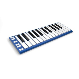 CME Xkey Blue 25-Key Mobile MIDI Keyboard