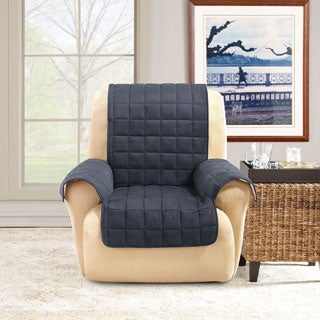 Sure Fit Ultimate Waterproof Quilted Recliner Furniture Protector