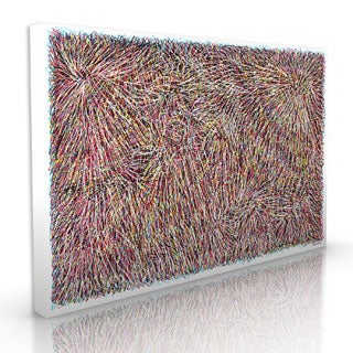 Maxwell Dickson 'Scribbled Dreams' Modern Canvas Wall Art
