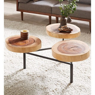 INK+IVY Arcadia Natural Coffee Table