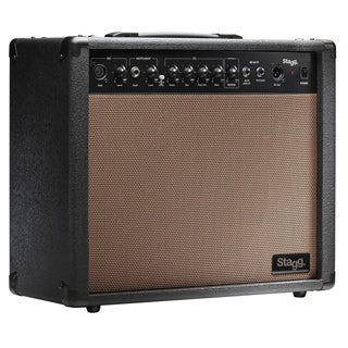 Stagg 60 AA R USA Spring Reverb Acoustic Guitar Amplifier