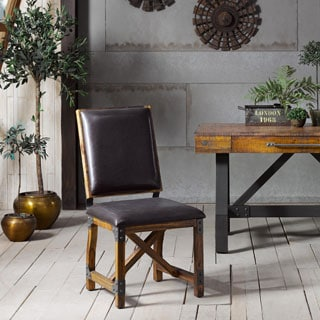 INK+IVY Lancaster Chocolate Dining Chair