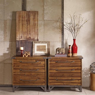INK+IVY Lancaster Amber 3 Drawer Dresser