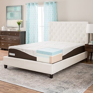 ComforPedic from BeautyRest 12-inch Cal King-size Gel Memory Foam Mattress