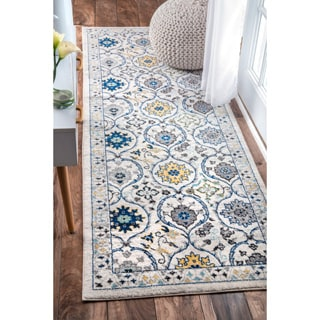 nuLOOM Modern Abstract Vintage Multi Runner Rug (2'8 x 8')