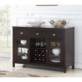 ABBYSON LIVING Clarkston Espresso Dining Buffet Server