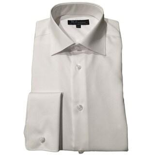Blu by Polifroni Men's White Cotton Shirt