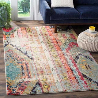 Safavieh Monaco Vintage Bohemian Multicolored Distressed Rug (10' x 14')