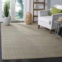 Safavieh Marbella Contemporary Handmade Blue/ Gold Wool Rug - 8' x 10'