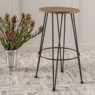 Anieli Metal Barstool by Christopher Knight Home
