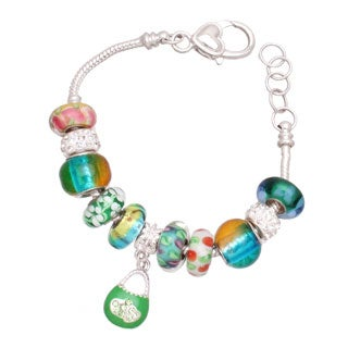 Lucky Lucy Silver Charm Bracelet