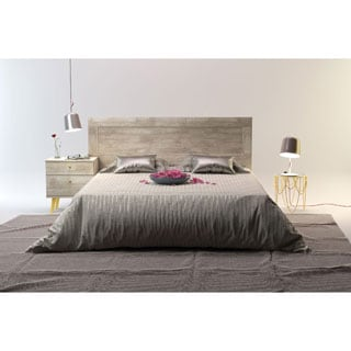 Barcelona Mid-Century Queen Bed with Headboard
