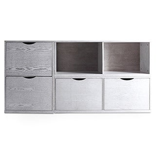 Haven Home Archer Grey Storage Unit by Hives & Honey