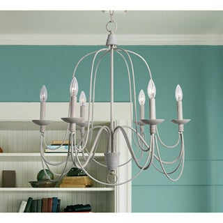 Basket 6 Light Chandelier