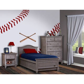 Evolur Cheyanne Twin Bed And Bed Rail