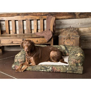 Hidden Valley Baxter Mossy Oak Camo Small to Extra-Large Dog Couch