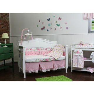 Garden District 6 Piece Nursery Bedding and Décor Collection