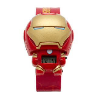 BulbBotz Marvel Kid's 'Iron Man' Light-up Watch