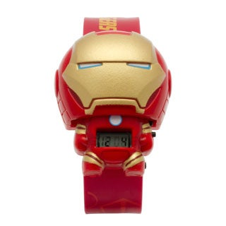 BulbBotz Marvel Kid's 'Iron Man' Light-up Watch