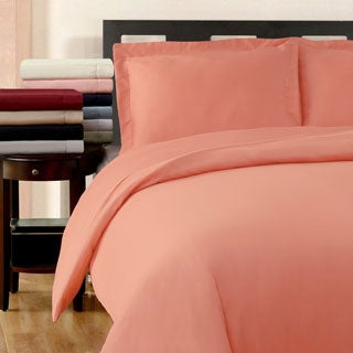 Superior 300 Thread Count Cotton Wrinkle Resistant Duvet Cover Set