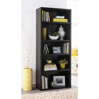 ClosetMaid Premium Black Walnut 5-shelf Adjustable Bookcase