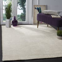 Safavieh Hand-Knotted Stone Wash Ivory Wool Rug - 8' x 10'