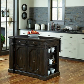 Hacienda Wood Top Kitchen Island by Home Styles