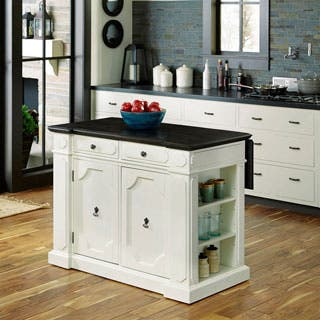 White Kitchen Islands For Less Overstock