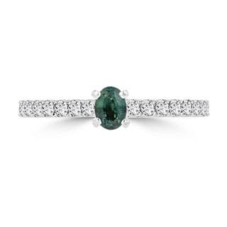 La Vita Vital 14K White or Yellow Gold 1/4ct TGW Brazilian Alexandrite and 1/3ct TDW Diamond Ring (G-H, SI1-SI2)|https://ak1.ostkcdn.com/images/products/P20406706a.jpg?impolicy=medium