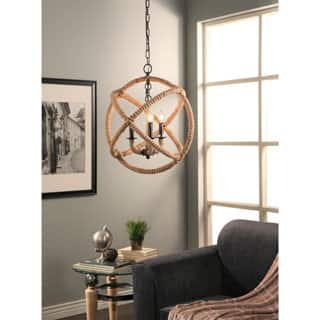 Abbyson Tuscan Iron 3-light Rope Enclosed Chandelier|https://ak1.ostkcdn.com/images/products/P20440079a.jpg?impolicy=medium