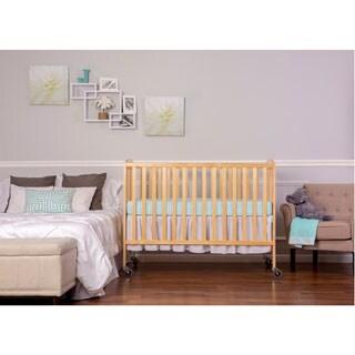Dream on Me Natural Wood Full-size Folding Crib