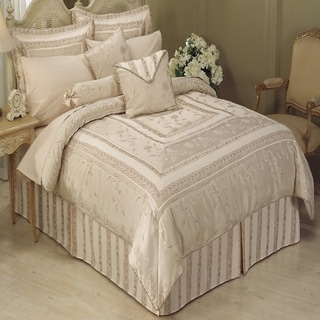 Athena Beige 11-piece Full Sized Bed in a Bag