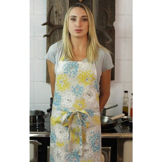 Ethereal Modern Cotton Canvas Apron