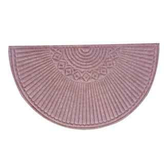 A1HC First Impression Nehemian Indoor/ Outdoor Semi-circle Doormat (24'' x 39'')
