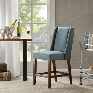 Madison Park Victor Blue Wing Counter Stool