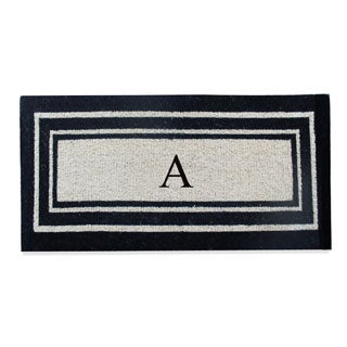 First Impression Coir 24-inch x 57-inch Classic Border Doormat