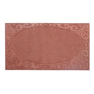 First Impression Beige Polypropylene 36-inch x 60-inch Indoor/Outdoor Doormat