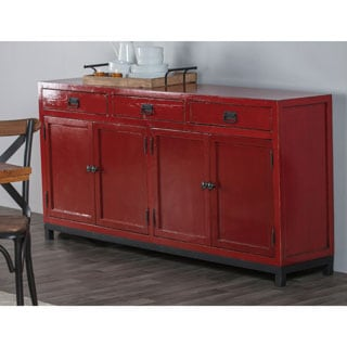 Kosas Home Marcus Red Sideboard