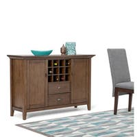 WYNDENHALL Mansfield Sideboard Buffet and Wine Rack