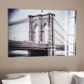 Harper Blvd The Brooklyn Bridge Glass Wall Art