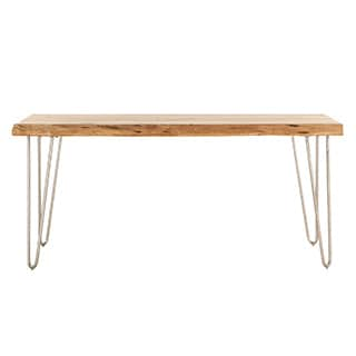 Grandby Acacia Live Edge 68-inch Dining Table