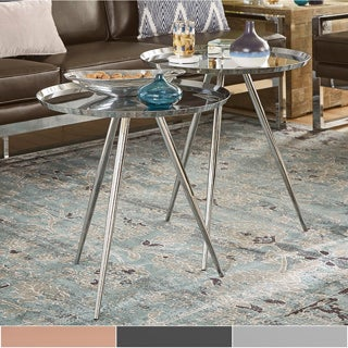 Zavia Metal Nesting Tables (Set of 2)