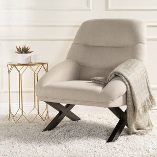 Christopher Knight Home Mathias Mid-Century Fabric Accent Chair
