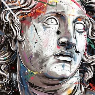 Maxwell Dickson 'Alexander The Great' Modern Canvas Wall Art