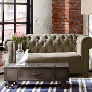 INK+IVY Benicia Grey Coffee Table