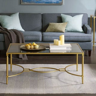 Madison Park Signature Turner Antique Gold Coffee Table