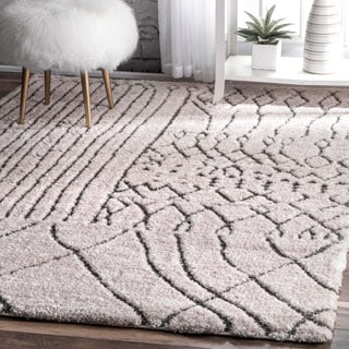 nuLOOM Contemporary Soft and Plush Moroccan Shag Rug (9'2 x 12')