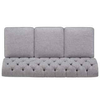 Knightsbridge Grey Linen Sectional Sofa Extension by SIGNAL HILLS